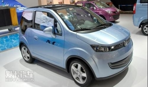 Family electric car from Haima.