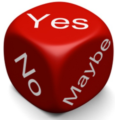 A Yes is a Yes is a No? (picture from http://efc.web.unc.edu/files/2013/04/Yes-No-Blog.jpeg)
