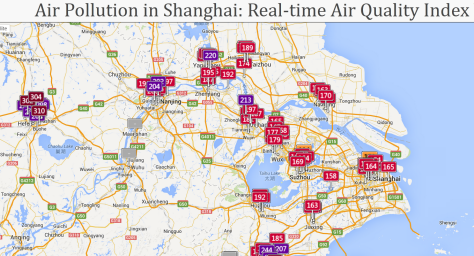 Air Pollution in Shanghai Real-time Air Quality Index Visual Map - Mozilla Fire_2013-11-08_21-54-38