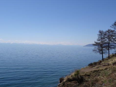 Lake Baikal - a Unesco Natural Heritage.